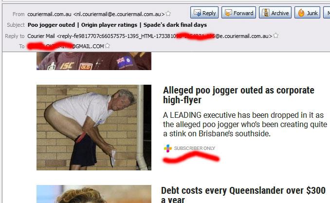 poo jogger