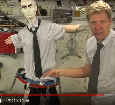 colin furze knife belt