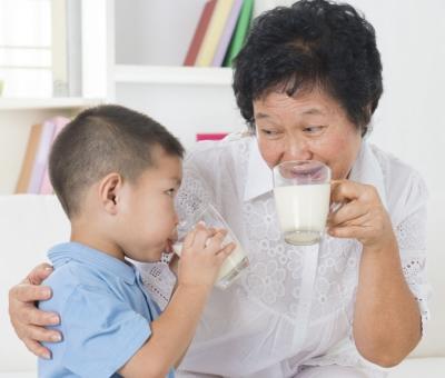 granny love milk