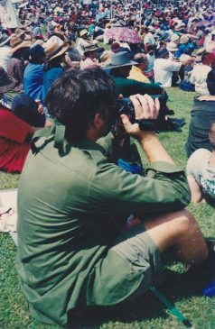 rodney brisbane anti war march 2003