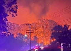 Fire bans on the Gold Coast, Sydney close to fire, while ADF use live rounds that cause fires.