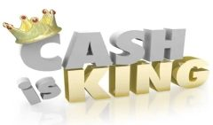 Cash is King: Use it or we'll lose it
